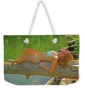 Pine Creek Summer Afternoon Weekender Tote Bag