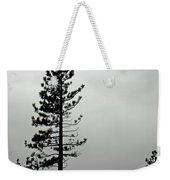 Pine In Snow Weekender Tote Bag