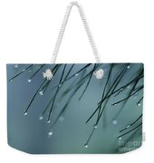 Pine Needle Raindrops Weekender Tote Bag