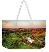 Pine Room Sunset Weekender Tote Bag