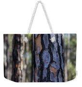 Pine Tree Bark Weekender Tote Bag