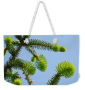 Pine Tree Branches Art Prints Blue Sky Botanical Baslee Troutman Weekender Tote Bag
