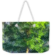 Pine Tree Forest Weekender Tote Bag