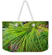 Pine Tree Needles Weekender Tote Bag