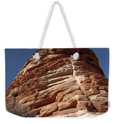 Pine Tree On Sandstone Weekender Tote Bag