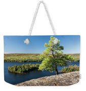 Pine Tree With A View Weekender Tote Bag