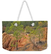 Pine Trees And Forest Weekender Tote Bag