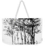 Pine Trees Weekender Tote Bag
