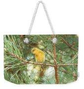 Pine Warbler Weekender Tote Bag