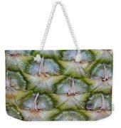 Pineapple Close-up Weekender Tote Bag