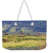 Pineapple Fields Weekender Tote Bag