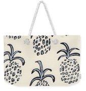 Pineapple Print Weekender Tote Bag