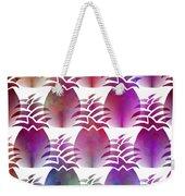 Pineapple Repeat Weekender Tote Bag