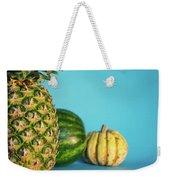 Pineapple, Watermelon, Pumpkin Weekender Tote Bag