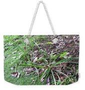 Pineapples Growing In The Woods Weekender Tote Bag