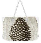Pinecone Weekender Tote Bag