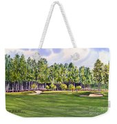 Pinehurst Golf Course 17th Hole Weekender Tote Bag by Bill Holkham