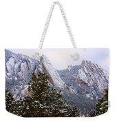 Pines And Flatirons Boulder Colorado Weekender Tote Bag