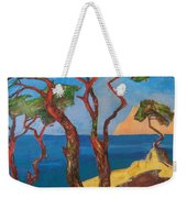 Pines Of The Silver Beach Weekender Tote Bag