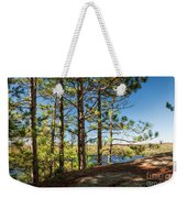 Pines On Sunny Cliff Weekender Tote Bag