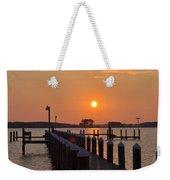 Piney Point Sunrise Weekender Tote Bag