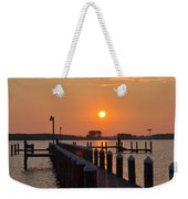 Piney Point Sunrise Weekender Tote Bag