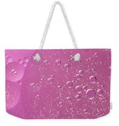 Pink Abstract Of Oil Droplet.  Weekender Tote Bag