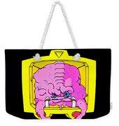 Pink Alien Weekender Tote Bag