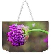 Pink Allium Weekender Tote Bag
