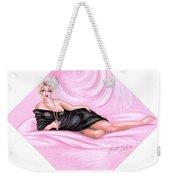 Pink Allure Weekender Tote Bag