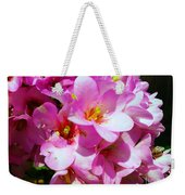 Pink And Beauty Weekender Tote Bag
