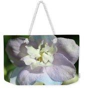 Pink And Blue Pastel Flower Weekender Tote Bag