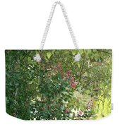 Pink And Green Path Weekender Tote Bag