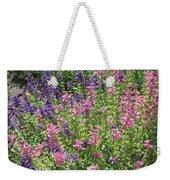 Pink And Lavender Weekender Tote Bag