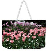 Pink And Mauve Tulips Weekender Tote Bag