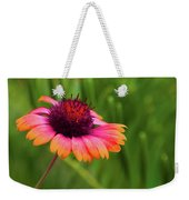 Pink And Orange Wild Daisy Weekender Tote Bag