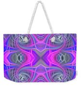 Pink And Purple Weekender Tote Bag