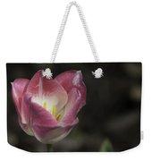 Pink And White Tulip 04 Weekender Tote Bag