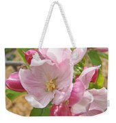 Pink Apple Blossoms Art Prints Spring Trees Baslee Troutman Weekender Tote Bag
