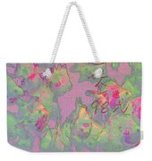Pink Aquarium Weekender Tote Bag