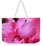 Pink Azalea Drama Weekender Tote Bag