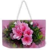 Pink Azaleas Weekender Tote Bag