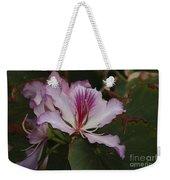 Pink Bauhinia Flower Weekender Tote Bag