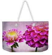 Pink Beauties Weekender Tote Bag