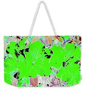Pink Bevy Of Beauties On A Sunny Day Color Invert Weekender Tote Bag