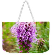 Purple Blazing Star 01 Weekender Tote Bag
