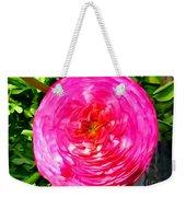Pink Bloom Weekender Tote Bag