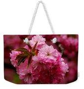 Pink Blooms Weekender Tote Bag