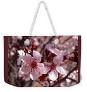 Pink Blossoms 033014c Weekender Tote Bag
