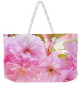 Pink Blossoms Art Prints Canvas Spring Tree Blossoms Baslee Troutman Weekender Tote Bag